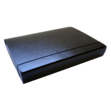 Caja de archivo fibra negra 5 cms