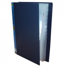 Carpeta plástica con 10 folios A4