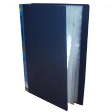 Carpeta plástica con 20 folios A4