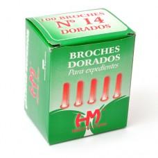 Broches Dorados N° 14