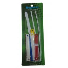 Broches Nepaco plásticos x10