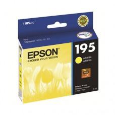 Cartucho Epson 195 T195420 amarillo