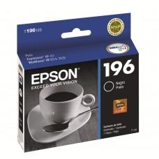 Cartucho Epson 196 T196120 negro