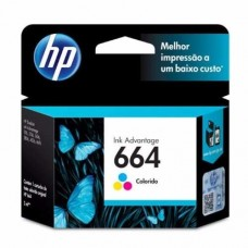 Cartucho HP 664 F6V28AL color