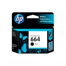 Cartucho HP 664 F6V29AL negro