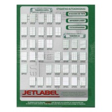 Etiquetas Jetlabel N° 2017 x 100hjs