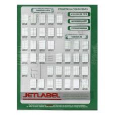 Etiquetas Jetlabel N° 2018 x 500hjs